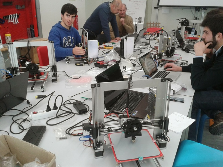 Build Your Own 3d Printer Workshop February 1 2