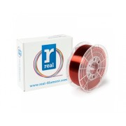 1.75mm REAL PETG - Translucent Red - spool of 1Kg