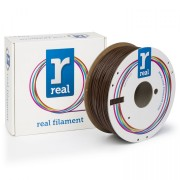 REAL PLA  1.75mm - Brown - spool of 1Kg
