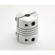 Aluminium Flexible Coupler 5mm / 5mm