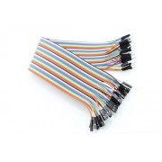 40 Pin Male - Female Splittable Jumper Wire