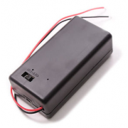 9V battery holder with switch