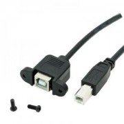 Panel Mount USB B Cable