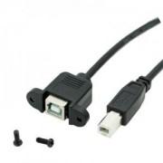 Panel Mount USB B Cable