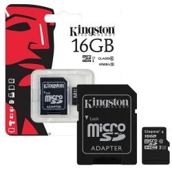 Kingston 16GB SDHC Class 10 Flash Memory Card