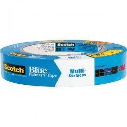 3M Blue 2090 Masking Tape 25mm x 50m