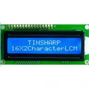 16x2 Character LCD -White on Blue 5V