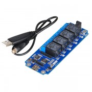 4 Channel USB/Wireless 5V Relay Module
