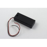 2 x AAA Battery Holder with cover and switch